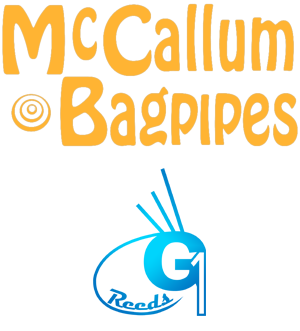 McCallum Bagpipes and G1 ReedsLogo PNG Sponsor