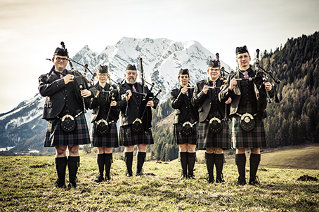 Eure Austrian Piping Society Pipe Band